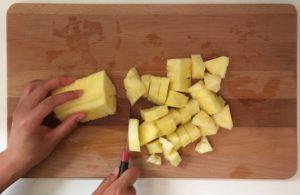 ananas schneiden trick
