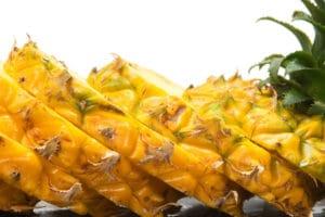 ananas schneiden anleitung