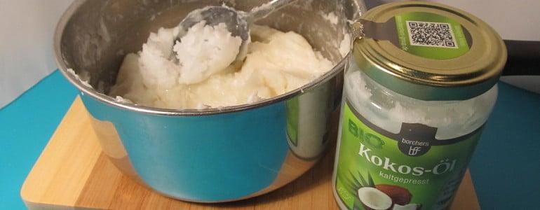 Seife mit Oel vermischen