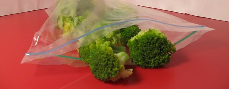 Brokkoli Gefriertuete