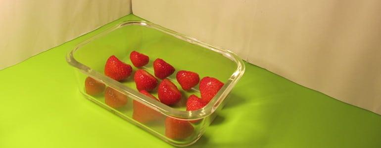 Erdbeeren getrennt einfrieren