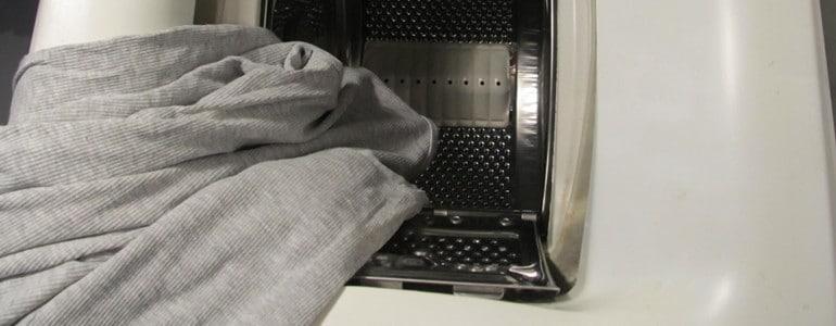 Kaffeeflecken in der Waschmaschine auswaschen