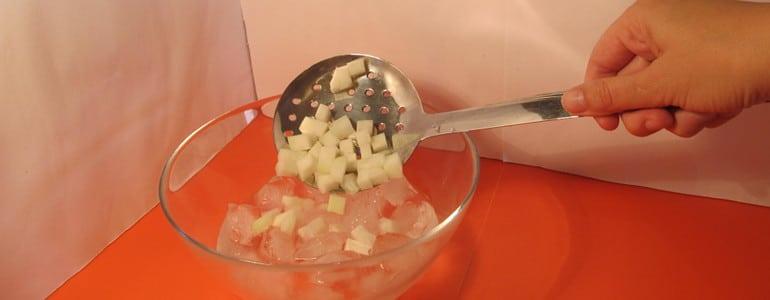 Kohlrabi blanchieren