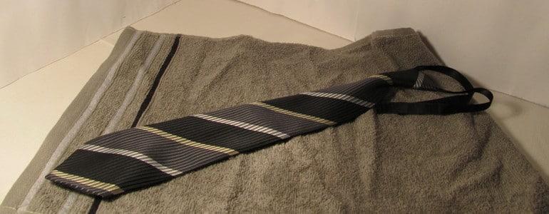 Krawatten schonend trocknen