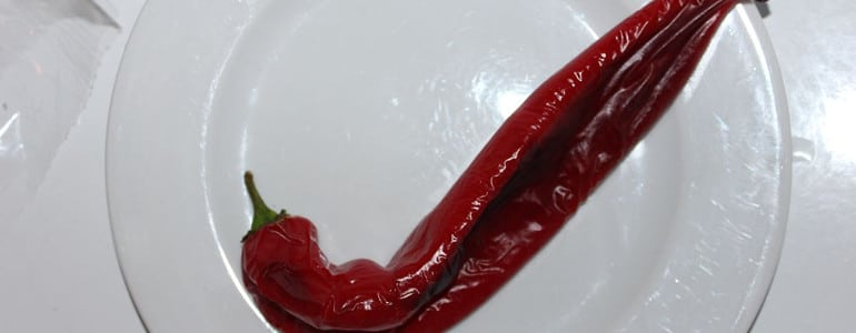 Paprika vorher