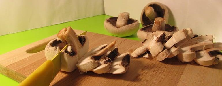 Pilze roh einfrieren