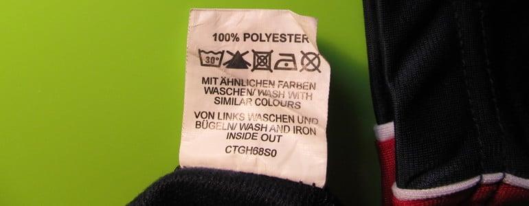 Polyester Reinigungsanleitung