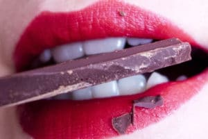 Schokoladenfleck entfernen