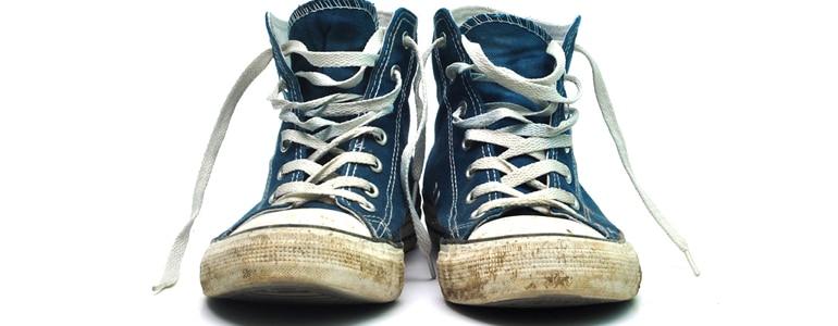 Schuhe waschen