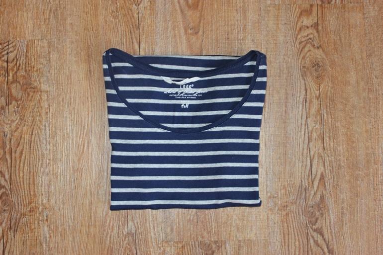 T-Shirt umdrehen