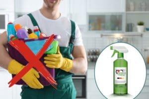 grüner teufel allzweckreiniger sprühflasche